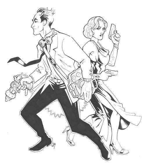 I.V. Frost & Jean Moray