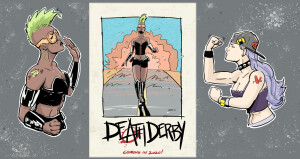 Death Derby 3Characters